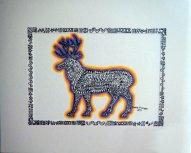Maddie's Art - Reindeer