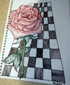 Maddie's Art - Rose (2)