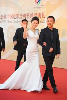 The best dressed of the night (for me) was hands down was Tian Hai Rong...elegant!