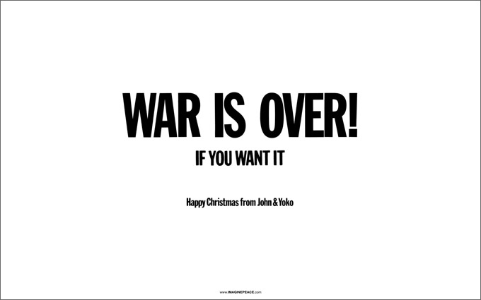 forty years ago john lennon and yoko ono released their christmas song happy xmas war is over it was originally a protest song but has now become a - John Lennon Christmas Song