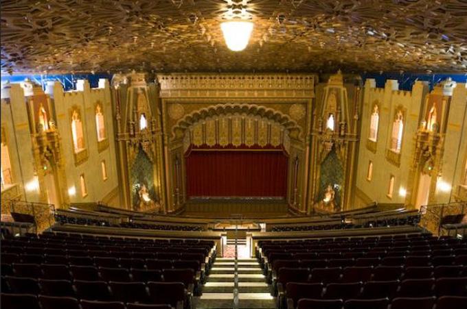 Pictures Mezzanine Fox Theater Oakland