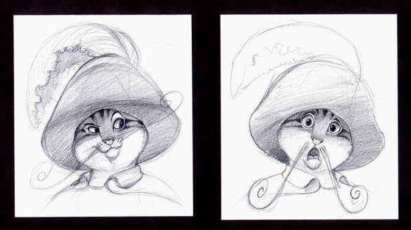 pussnboots expressions for Dreamworks Studios