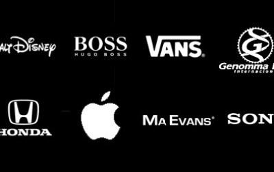 logotipos en blanco