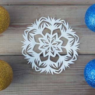 make some paper snowflakes is a fun thing to do this christmas