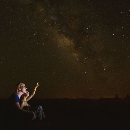 gaze at the stars all night long is a 10 must do things in  your life