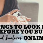 Things To Look For Before You Buy Hand Sanitizer Online