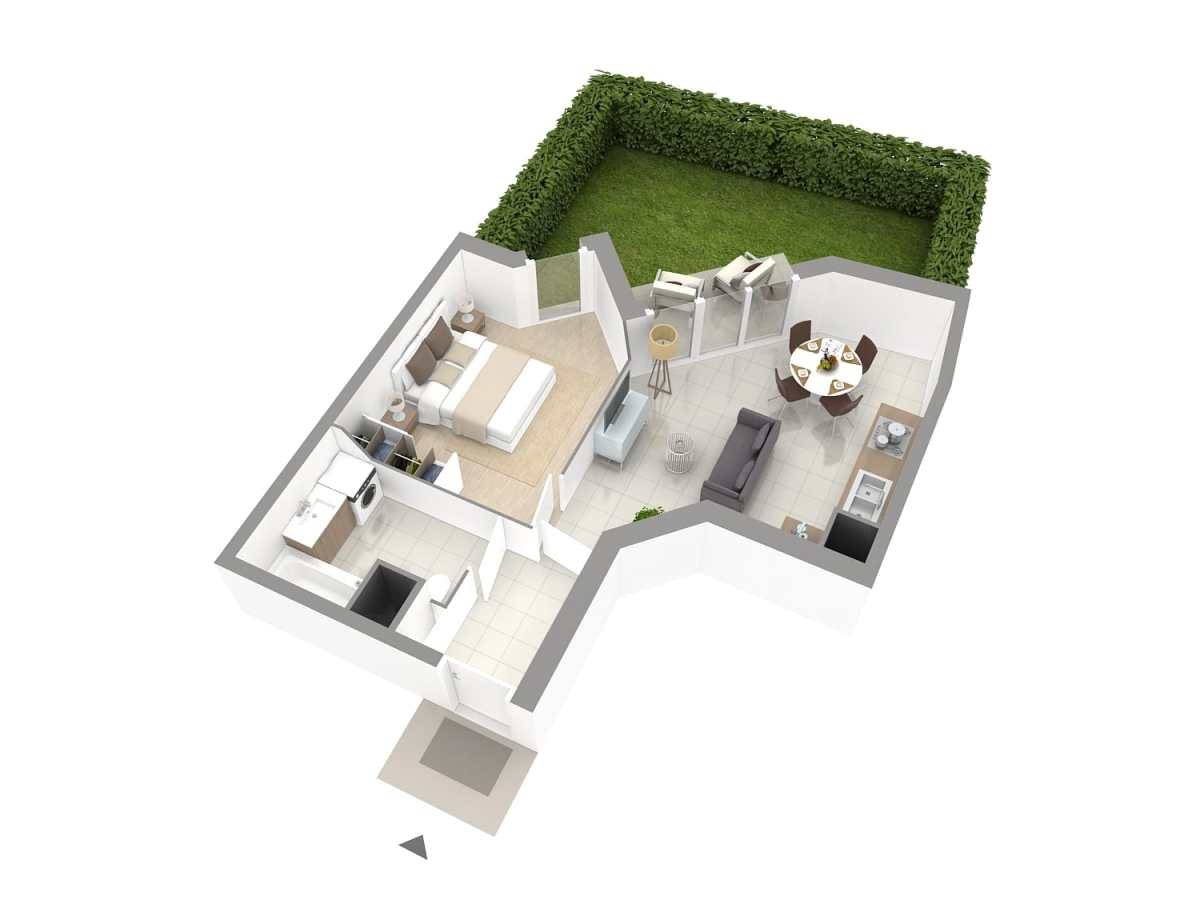 Galerie Plans 3D VEFA 5