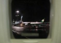 Shot from a plane at San Francisco International Airport.