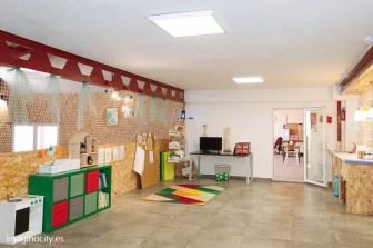 Room 3/ patio interior / area de aprendizaje/ lectura y juego