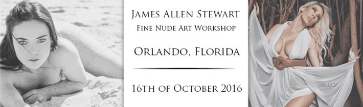 Orlando, Florida Workshop – Fine Nude Art