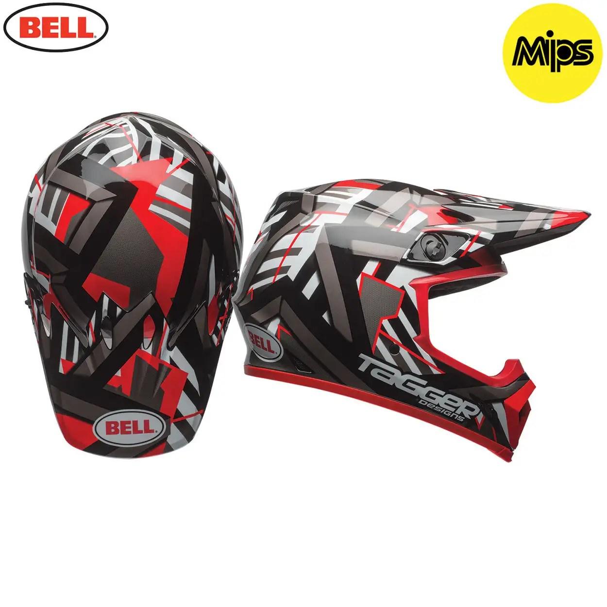 Bell Mx 9 Mx9 Motocross Mx Bmx Enduro Full Face Helmet