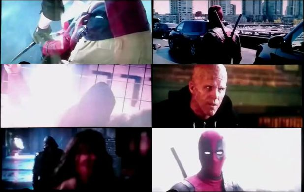 Deadpool 2016 MKV 480p TELESYNC 400MB MT MkvTube