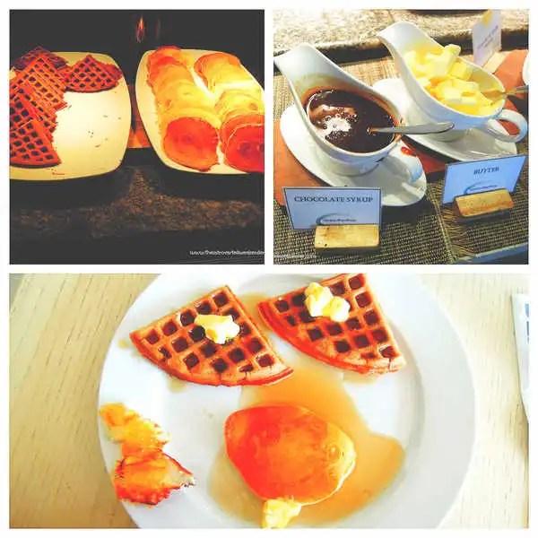Waffle and pancake station