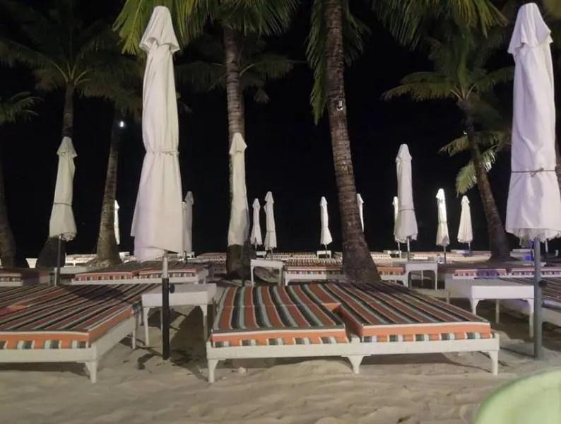 Dinner by the beach