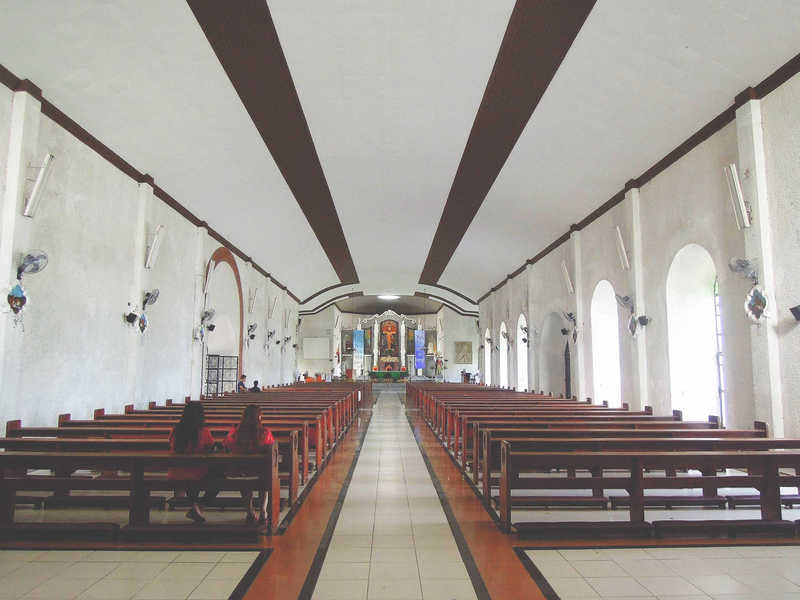 Interiors of Daraga Church