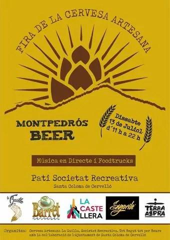 MONTPEDROS BEER