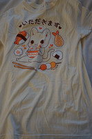 Tasty Peach's Itadakimasu T-shirt