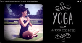 Yoga with Adrienne for complete beginners