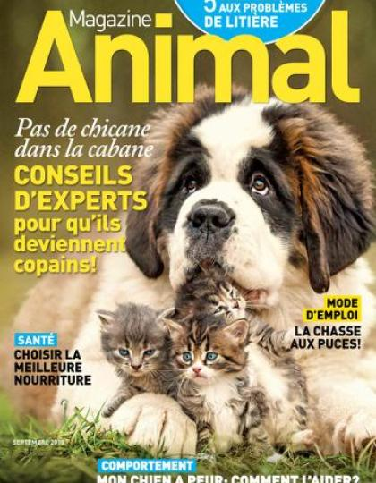 Magazine Animal – Septembre 2015