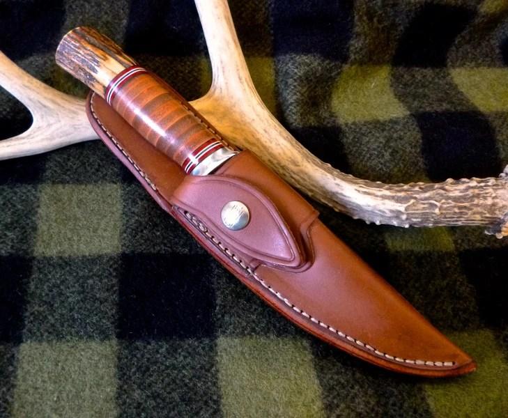 Archery Arm Guard Knife Sheath