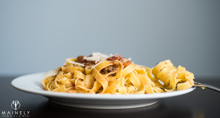 Simmered for hours, this rich and tasty bolognese sauce is high in umami