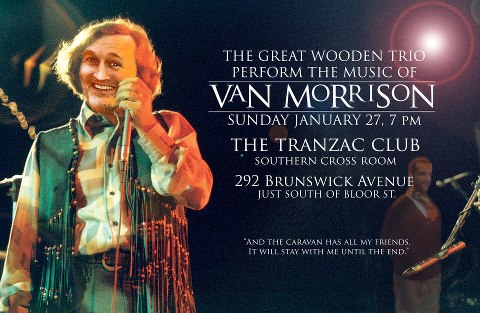The Great Wooden Trio Performs Van Morrison!