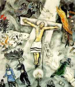 Marc Chagall Crucifiction