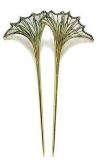 Rene Lalique hair pin