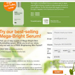 Mega Bright Skin Serum 2 days supply