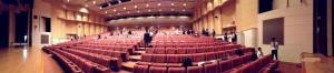 ジオパークセッションの会場写真