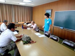 2014年7月今子浦ガイド強化セミナー