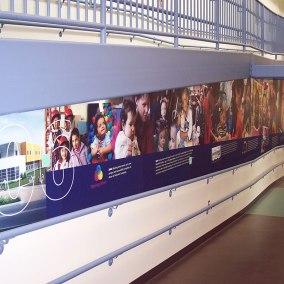 Meeting Street History Wall Graphics