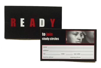 READY Messaging Card