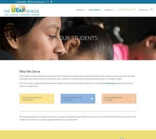 The UCAP School website students page