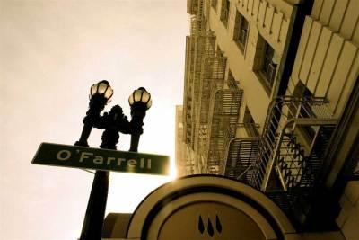 O-Farrell street sign