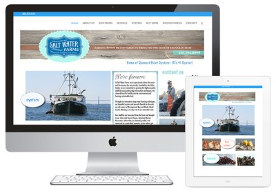 Saltwater Farms Website