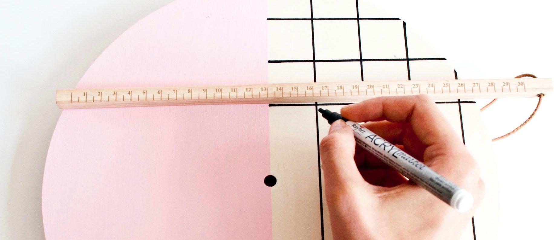 DIY tutorial Klok | IMAKIN DIY DESIGN