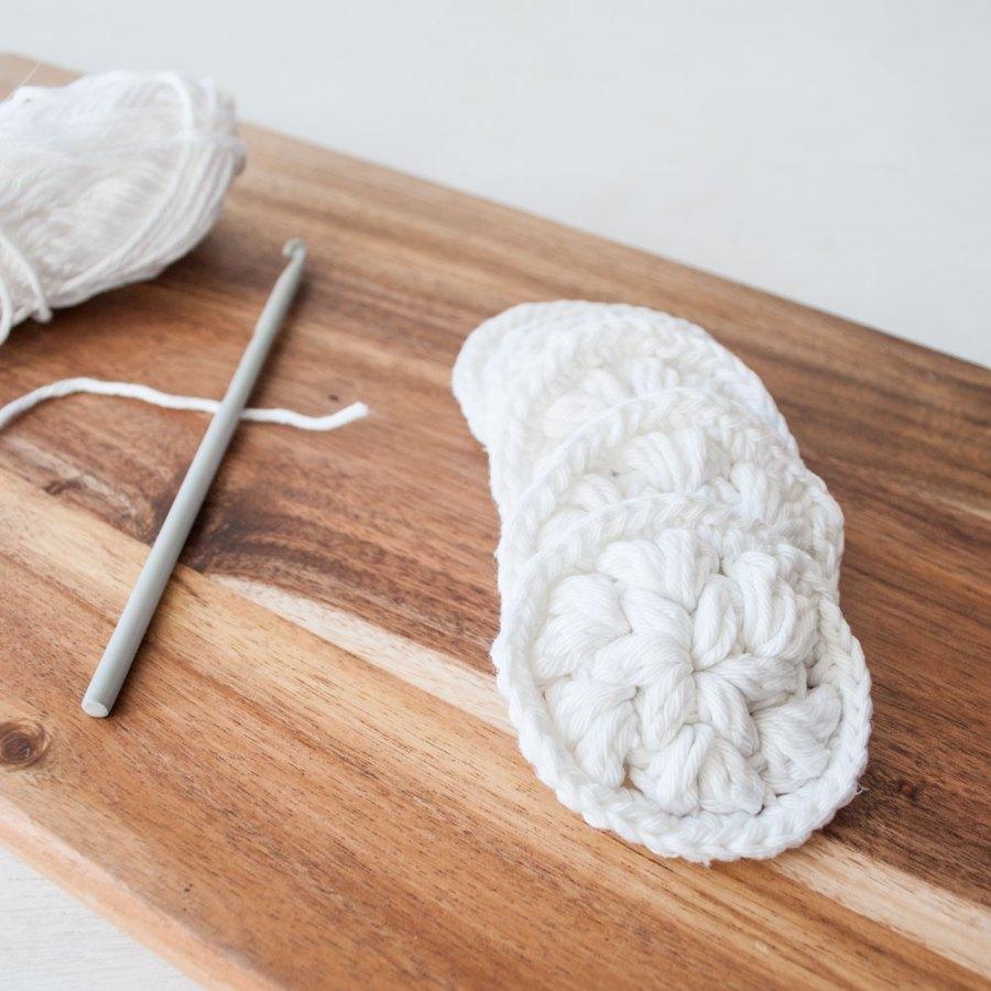 DIY wattenschijfjes haken | IMAKIN