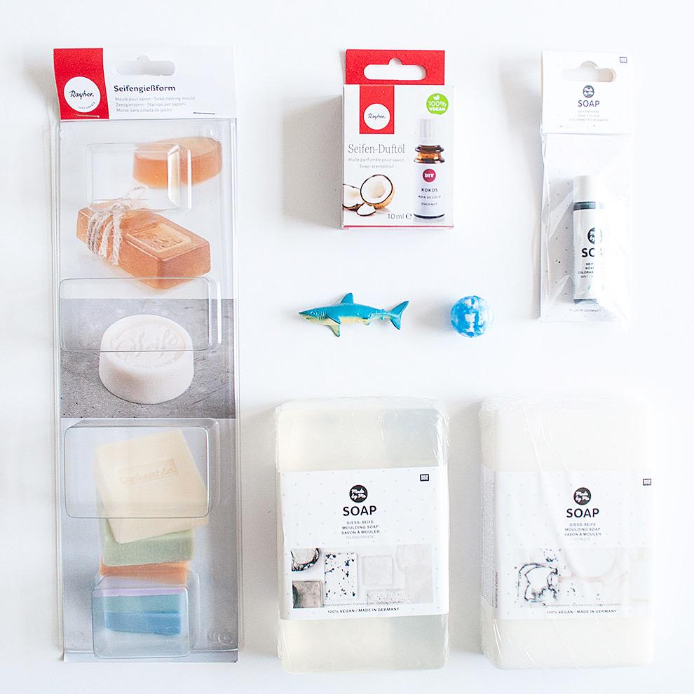 DIY kids zeep met speeltje pakket | IMAKIN