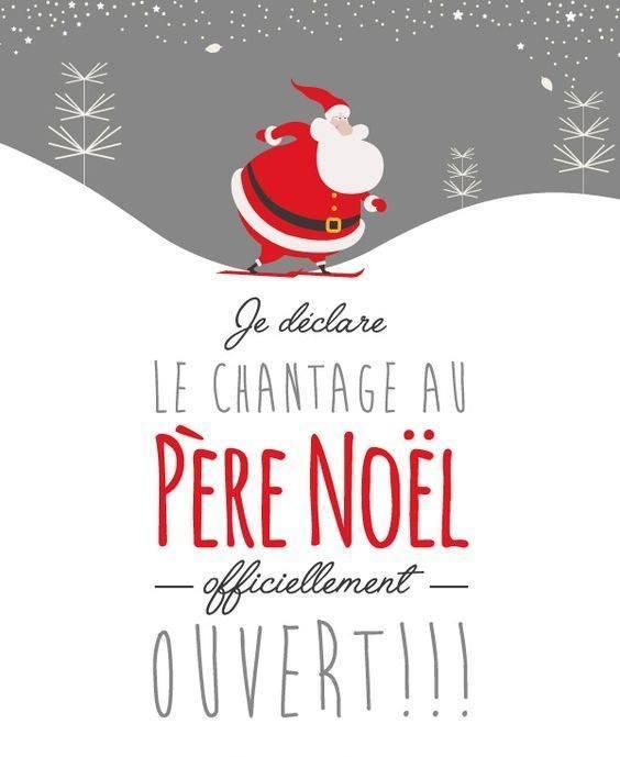 chantage père Noël