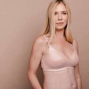 Nurture Nursing and Hands-Free Pumping Bra in Pale Blush