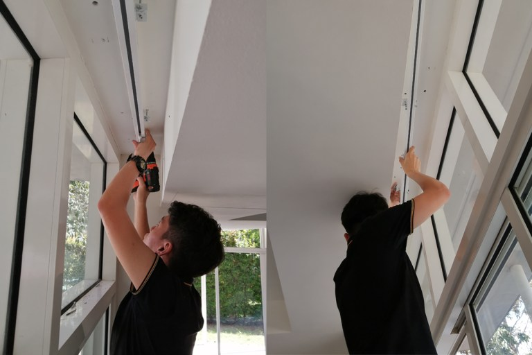 imt Smart Relax Curtain Installation