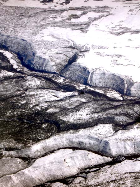 topography photo Colorado river mountains