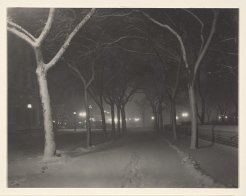 An Icy Night, 1898, MET