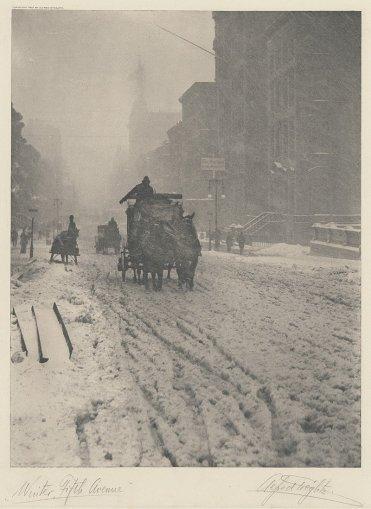 Winter - Fifth Avenue, 1893, MET