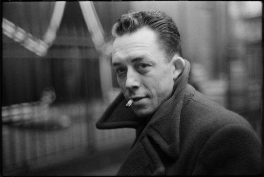 Henri Cartier-Bresson, FRANCE. Paris. French writer Albert CAMUS. 1944. @Henri Cartier-Bresson | Magnum Photos