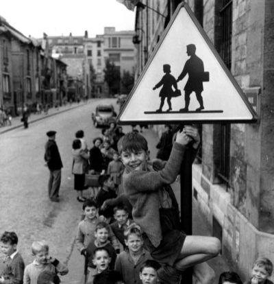 Robert Doisneau, Gli scolari de la rue Damesme, Parigi 1956 Credits: @ Atelier Robert Doisneau