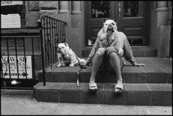 Elliott Erwitt Street scene in New York City. USA. 2000 © Elliott Erwitt   Magnum Photos