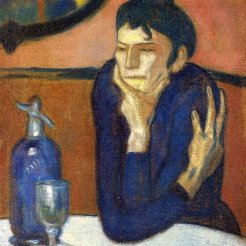 Pablo Picasso, La bevitrice d'assenzio, 1901