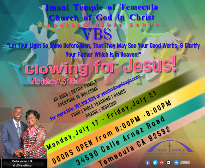 YOUTH CHURCH (VBS)